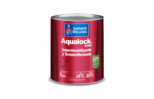 impermeabilizante gotera pintura sherwin williams aqualock
