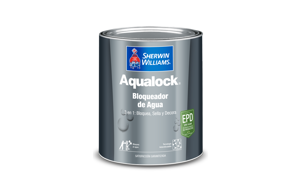 aqualock bloqueador sherwin williams pintura