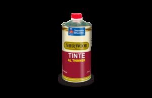 tinte al thinner