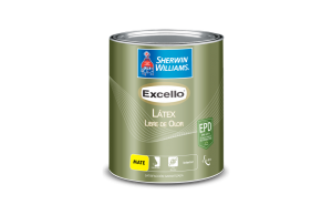 pintura libre de olor excello sherwin williams