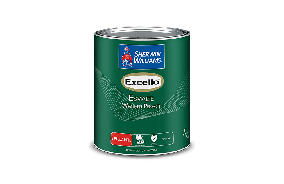 Excello Esmalte Weather Perfect pintura sherwin williams
