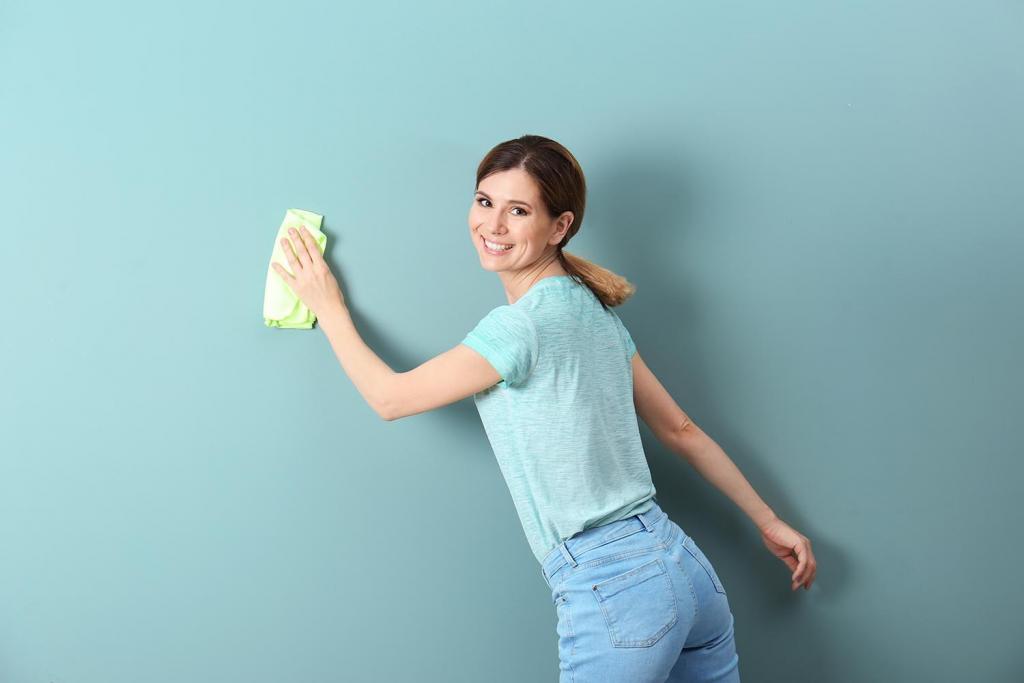 Tips para limpiar tus paredes