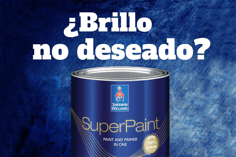 ¿Brillo no deseado?