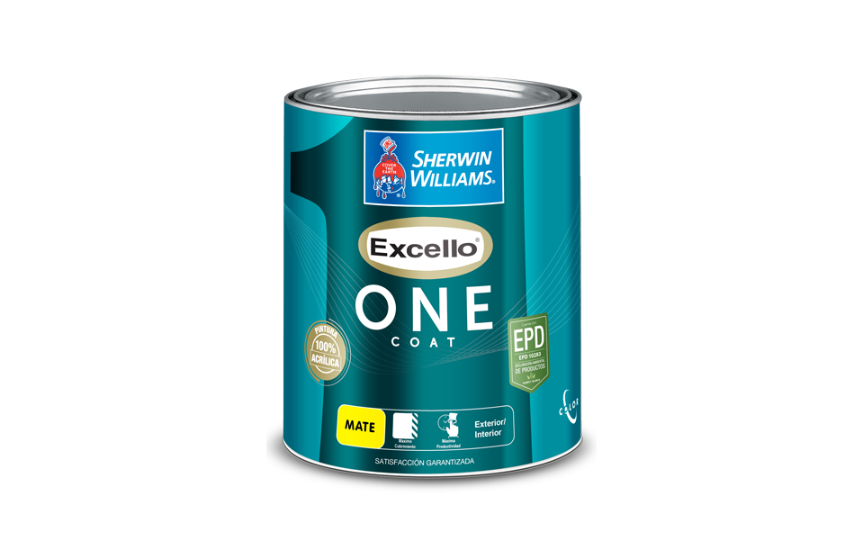 excello one coat pintura interior sherwin williams