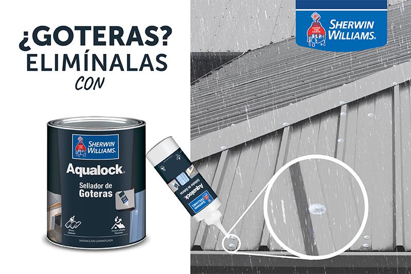 Aqualock Sellador de Goteras Sherwin Williams