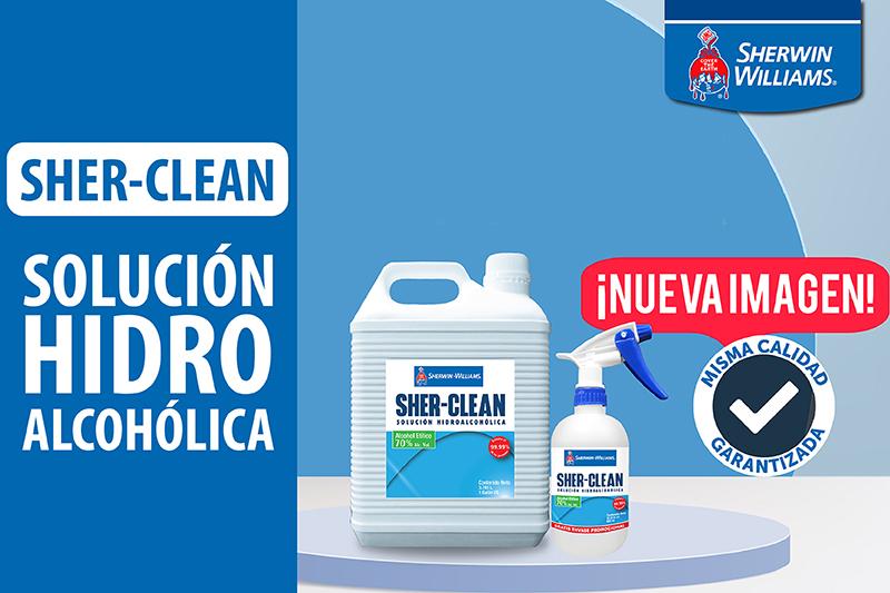 Sher-Clean Solución Hidroalcohólica