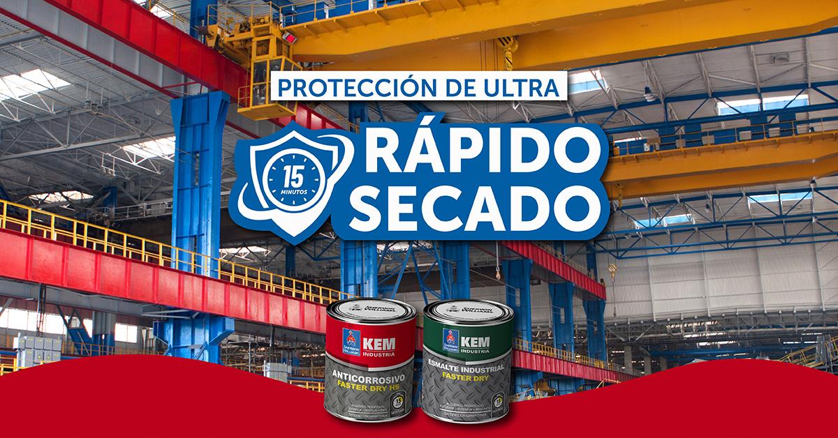 Protección de ultra Rápido Secado
